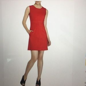 Diane Von Furstenberg Red Mini Dress